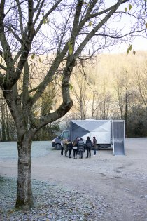 Le satellite du FRAC en campagne, expositions Hors les murs
